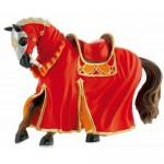 Figurina Cal pentru turnir rosu