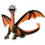 Figurina Dragon orange - portocaliu