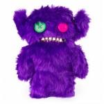 FUGGLER Monstru mediu 26 cm - Mov Pufos