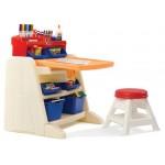 Masuta cu scaunel - Flip & Doodlle Easel Desk