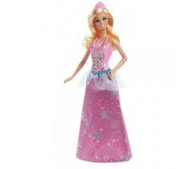 Papusa Barbie - Gama Petrecerea Printeselor - Rochie mov
