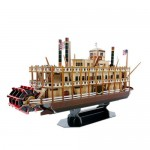 Puzzle 3D - Mississippi Steamboat - 142 piese