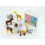 Puzzle magnetic 8 animale