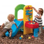Play Ball Fun Climber - Turnulet cu tobogan