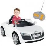 Masinuta electrica Audi R8 Spyder alb - Biemme