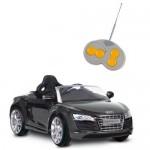 Masinuta electrica Audi R8 Spyder negru