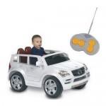 Masinuta electrica Mercedes Benz alb - Biemme