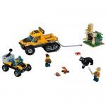 Misiune in jungla cu autoblindata LEGO City