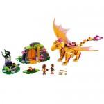 Pestera dragonului de foc LEGO Elves