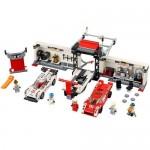Porsche 919 Hybrid si 917K Pit Lane LEGO Speed Champions