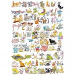Puzzle 101 pisici si un soricel, 1000 piese