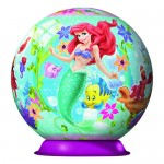Puzzle 3D Ariel Mica Sirena, 108 Piese