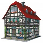 Puzzle 3D Casa Medievala, 216 Piese