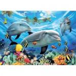Puzzle Delfini, 300 Piese