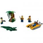 Set de jungla pentru incepatori LEGO City