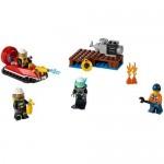 Set de pompieri pentru incepatori LEGO City Fire