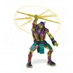 Donatello (14 cm) - Figurina Testoase Ninja Deluxe Movie Line