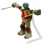 Ninja Action Leonardo - Figurina din gama Testoasele Ninja