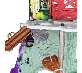 Adapost pentru Testoasele Ninja - Secret Sewer Lair Playset