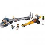 Transportor de dragster LEGO City