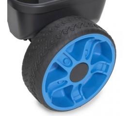 Tricicleta 4 in 1 albastra neon - Little Tikes