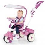 Tricicleta 4 in 1 roz - Little Tikes