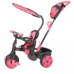 Tricicleta 4 in 1 roz neon - Little Tikes