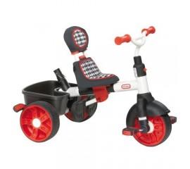 Tricicleta sport 4 in 1 rosu cu alb - Little Tikes
