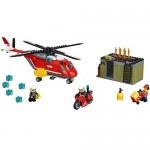 Unitatea de interventie de pompieri LEGO City Fire
