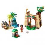 Vaiana si aventura ei de pe insula LEGO Disney Princess